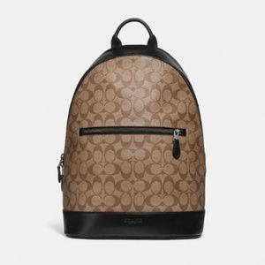 Coach Men West Slim Backpack
